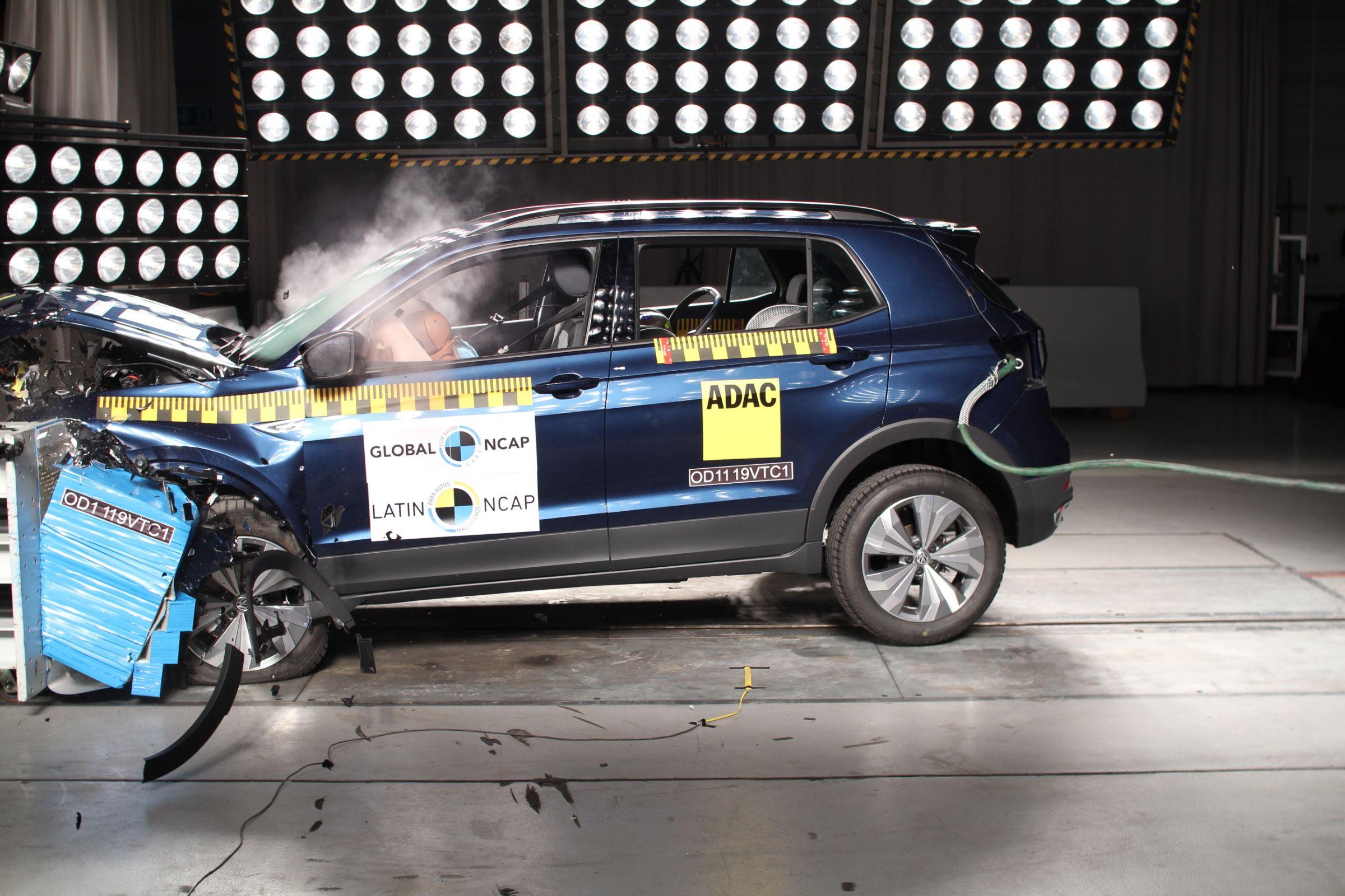 teste de impacto latin ncap volkswagen t cross 8
