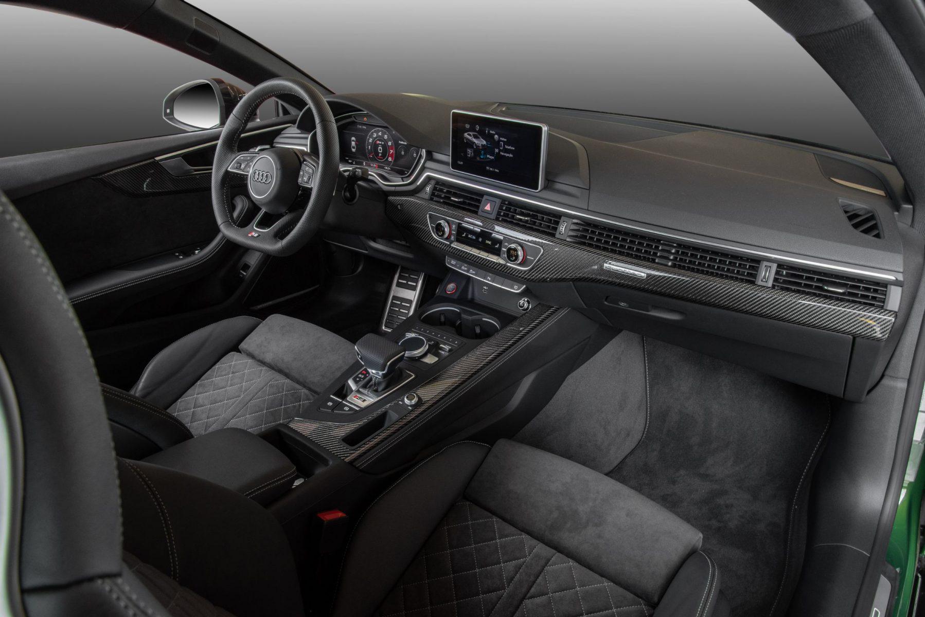 audi rs5 interior