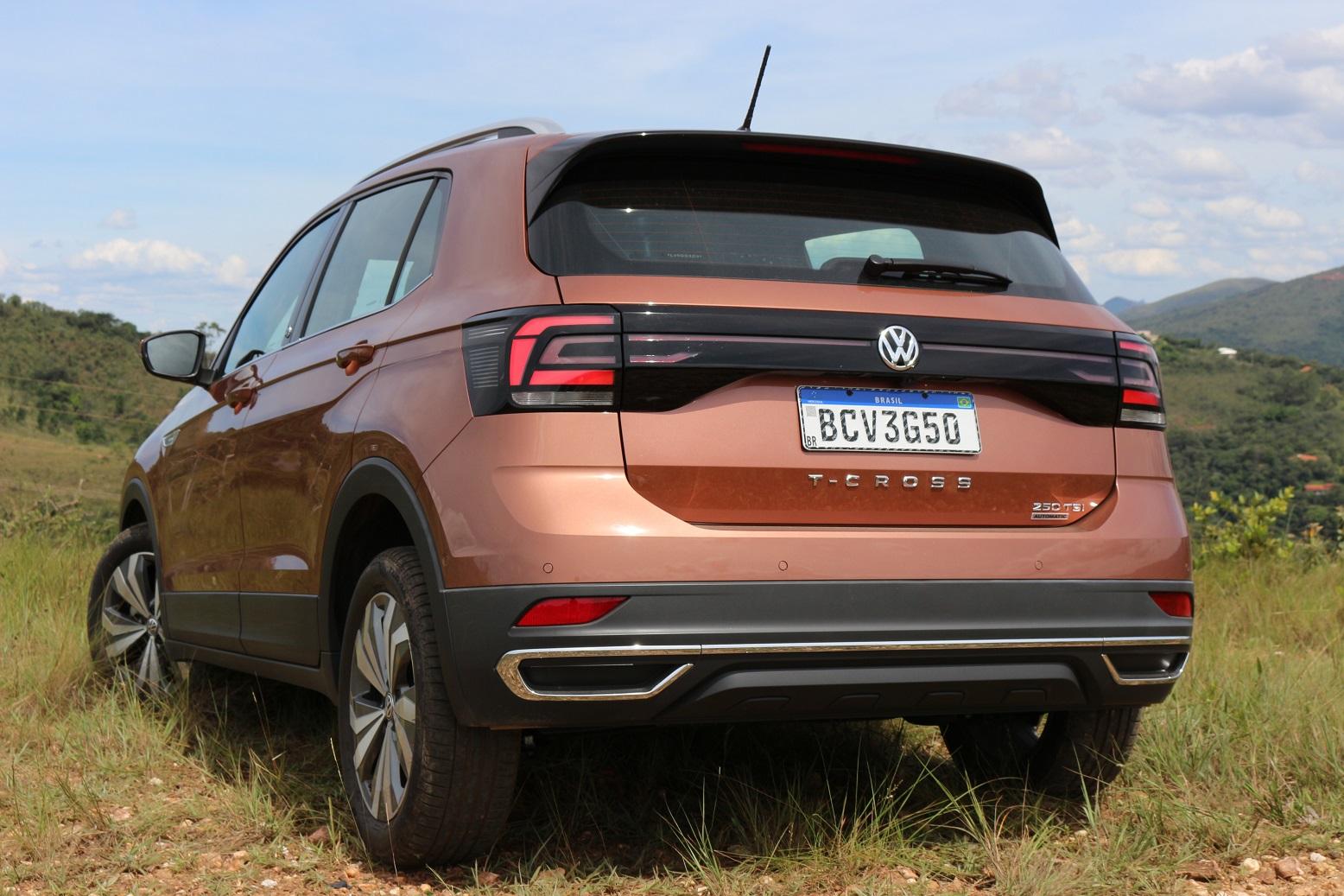 VW T-Cross Highline: espaço interno é ponto forte