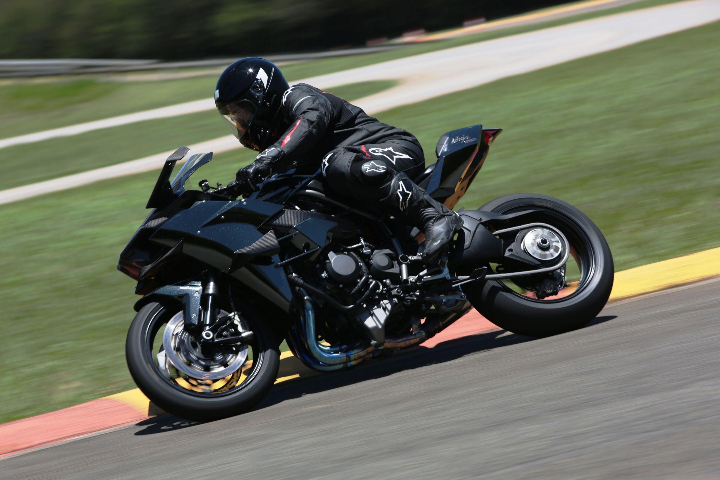 Kawasaki Ninja H2 Aterrissagem Autorizada