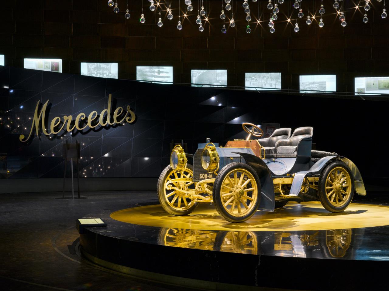 """O nome """"Mercedes"""" veio da filha de um cliente e representante da Daimler."""