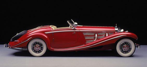 museu da mercedes 500k special roadster 1936