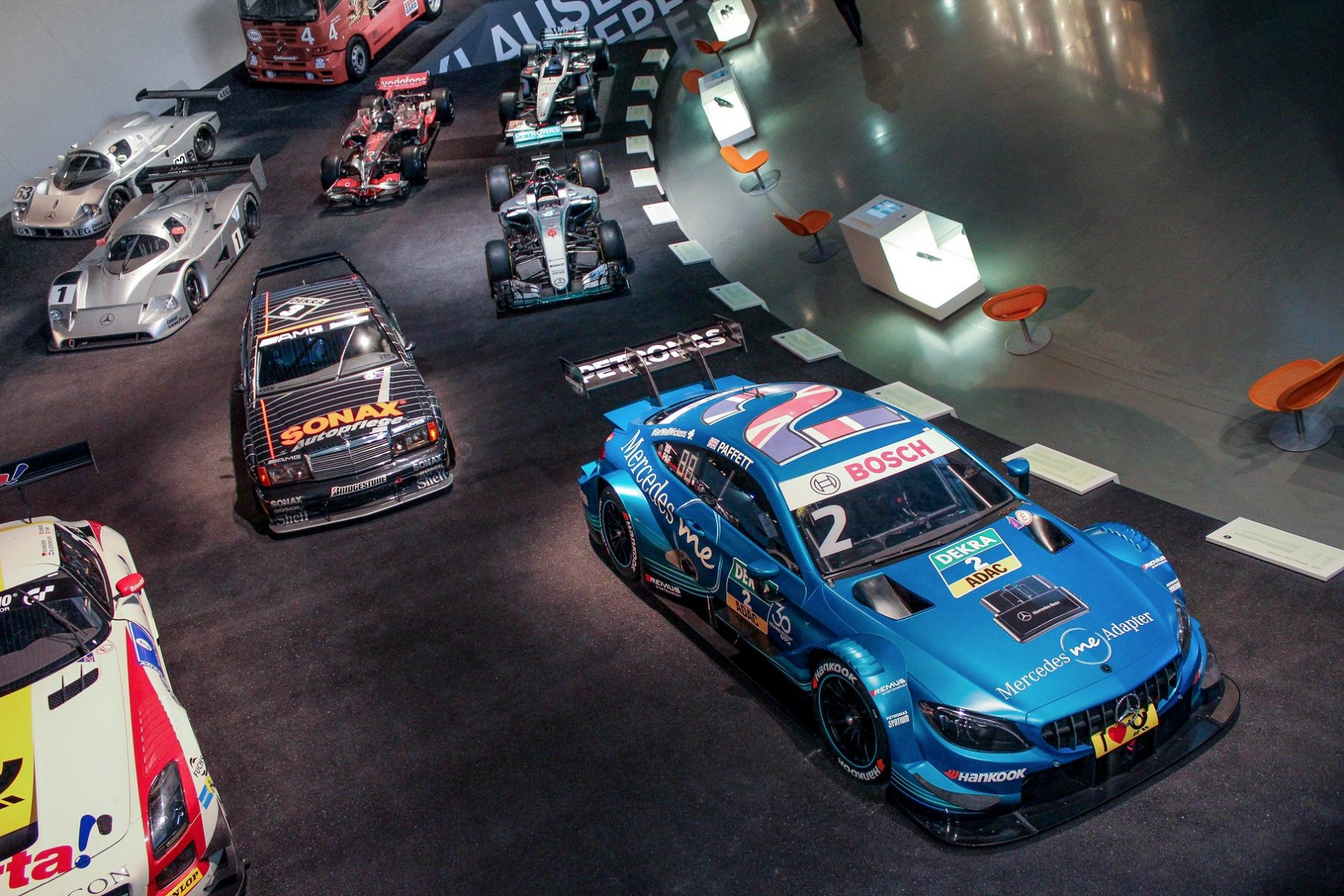 museu da mercedes carros de corrida silver arrow