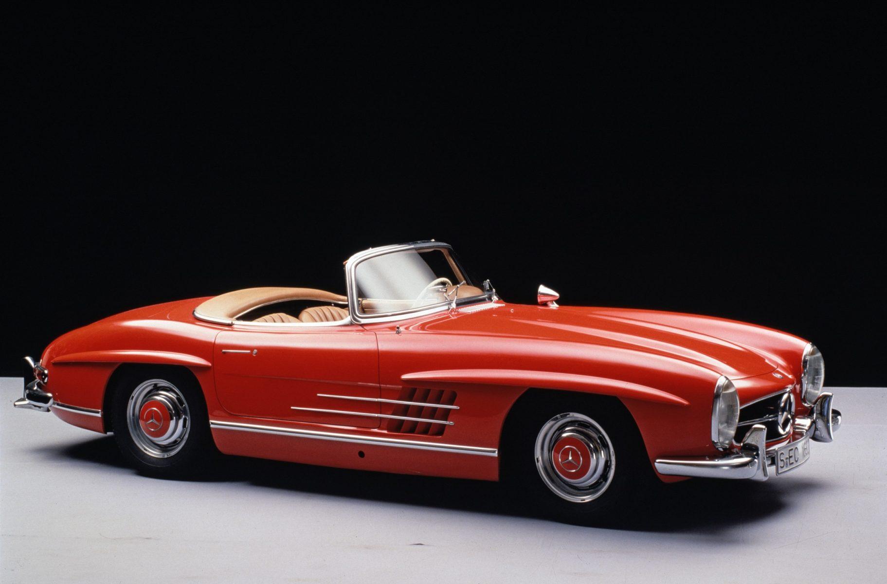 mercedes benz 300 sl roadster 1957 a 1963