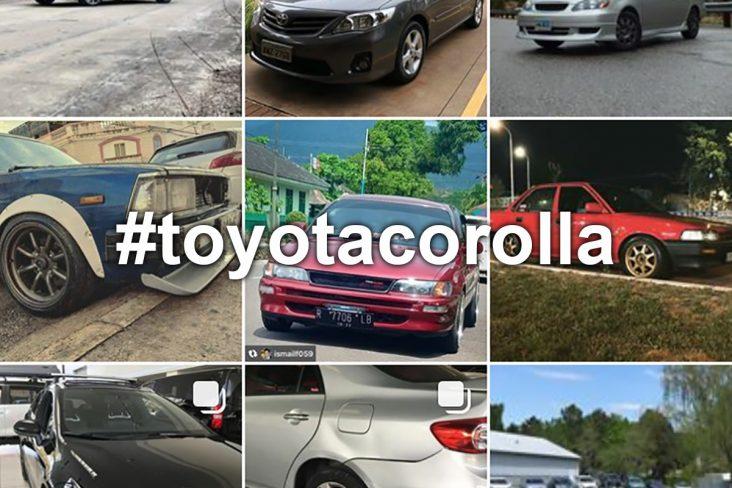 carros no instagram toyota corolla