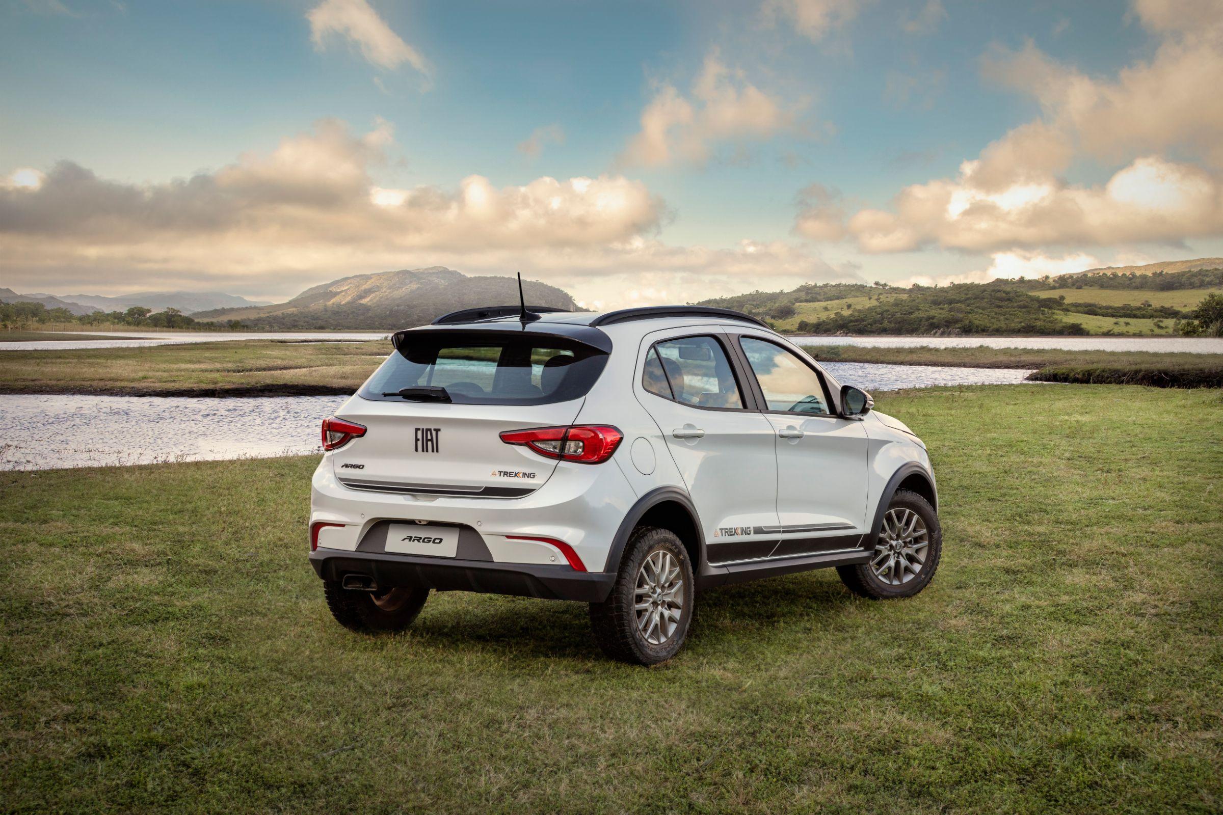 Fiat Argo Trekking: suspensão elevada