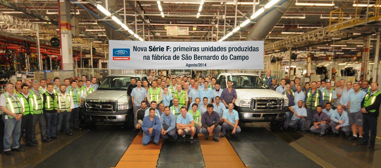 ford f 4000 na fabrica de sao bernardo do campo