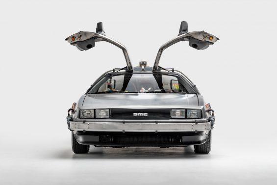 delorean de volta para o futuro carro maquina do tempo 1985 1