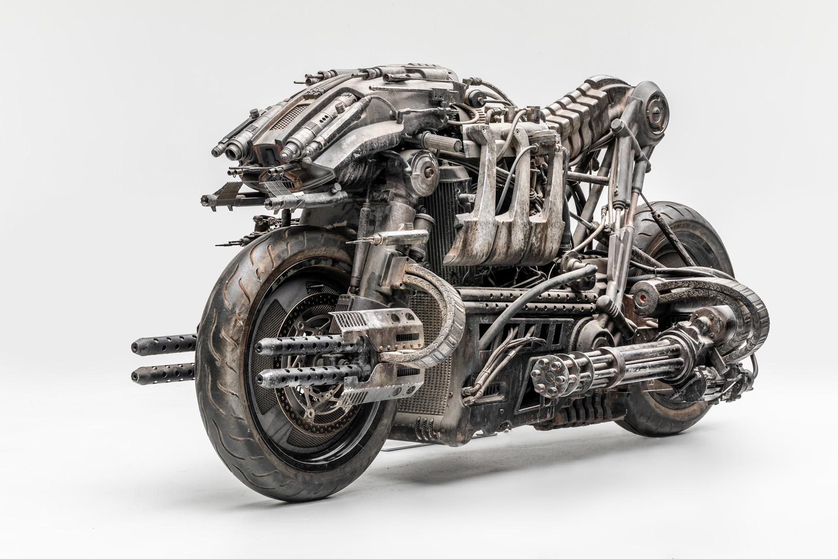 moto exterminador exterminador do futuro salvacao 2009