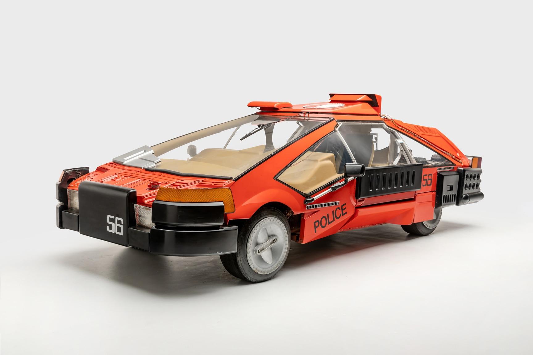 carro de blade runner deckard 1982