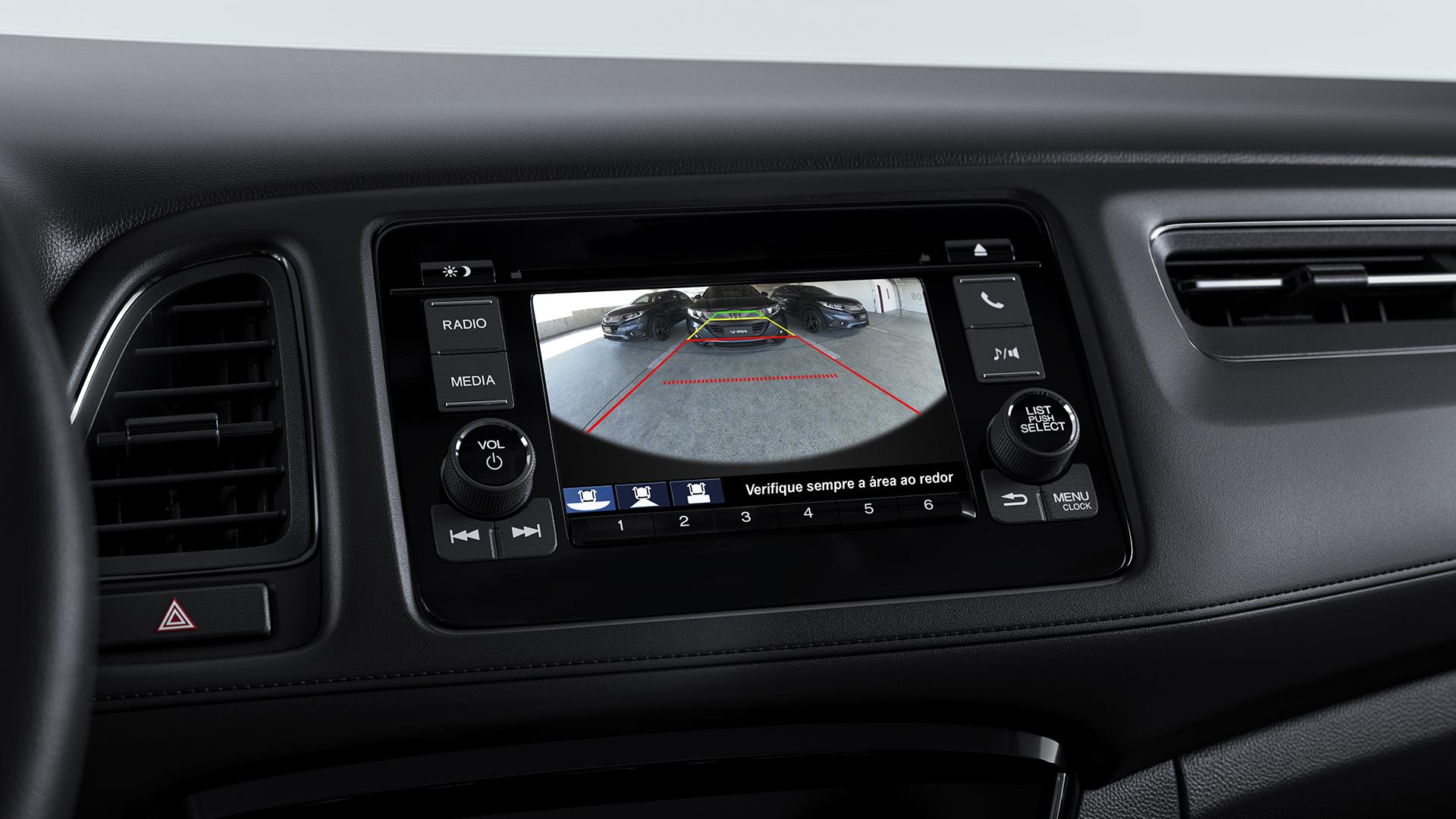 Honda HR-V 2020: versão EX tem câmera de ré integrada