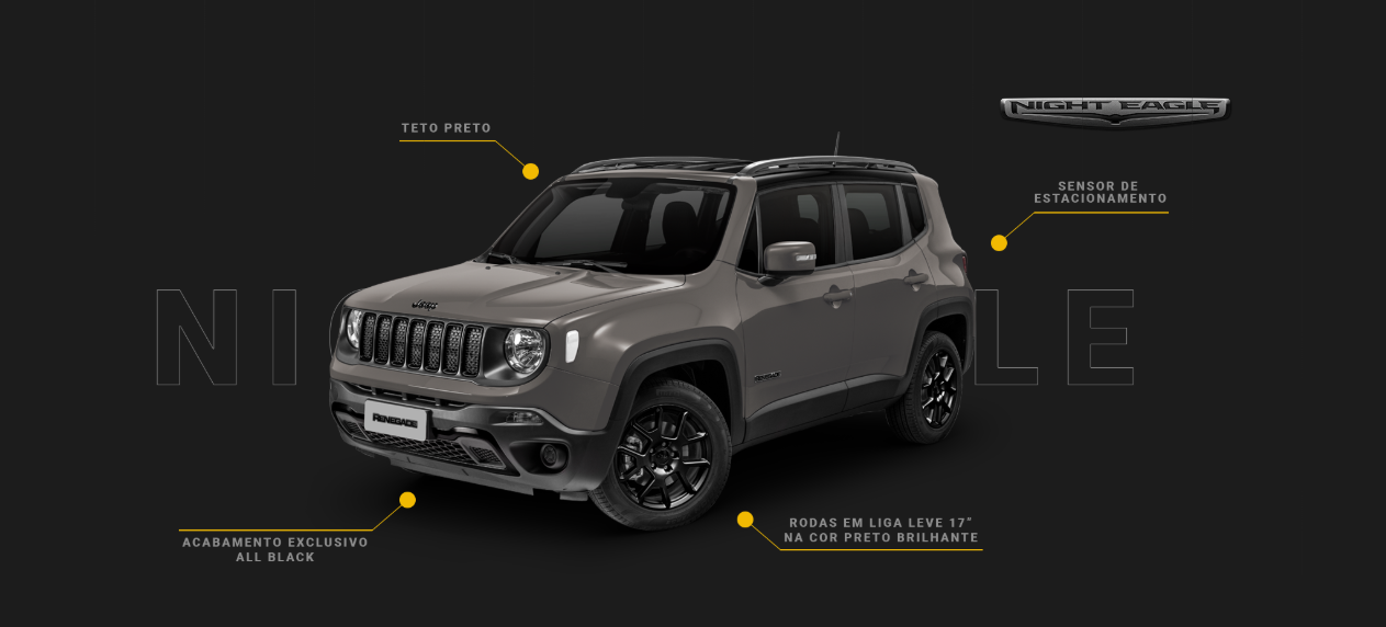 jeep renegade nigth eagle exterior