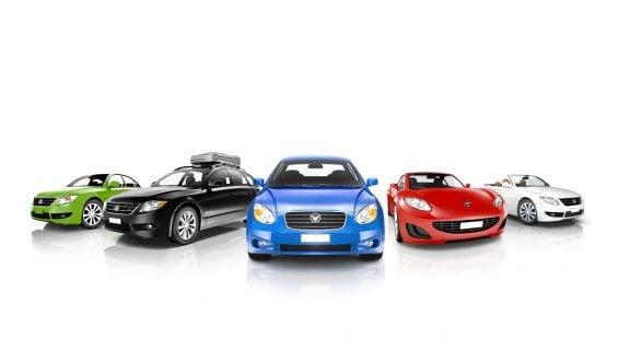 Exemplos de veículos da categoria B: automóveis de passeio, picapes e SUVs