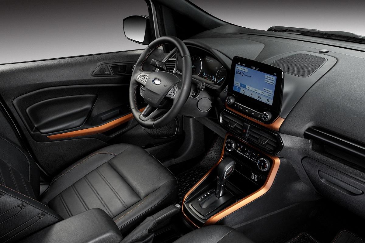 Melhor central multimídia: Ford Sync no EcoSport