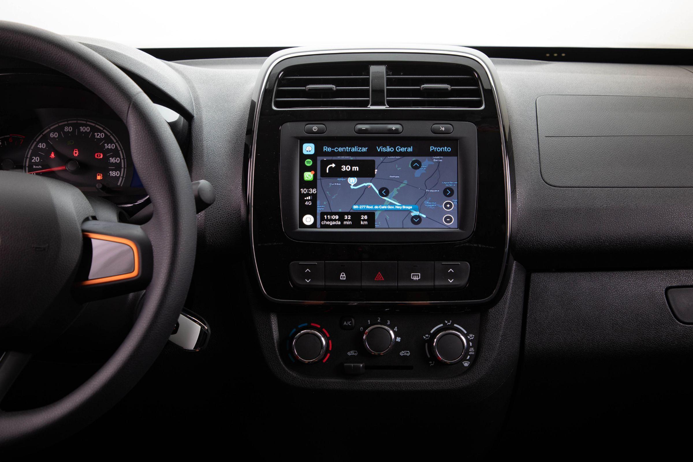 Melhor central multimídia: Renault MediaNav Evolution
