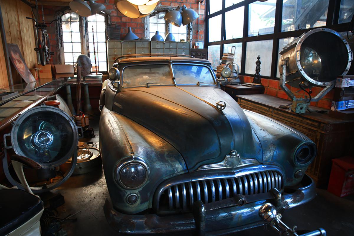carro garagem