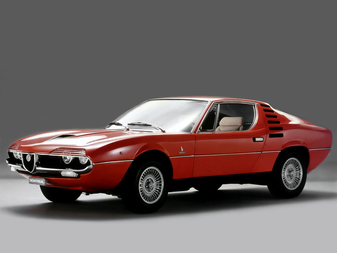 alfa romeo montreal 1970 a 1977 bertone marcelo gandini