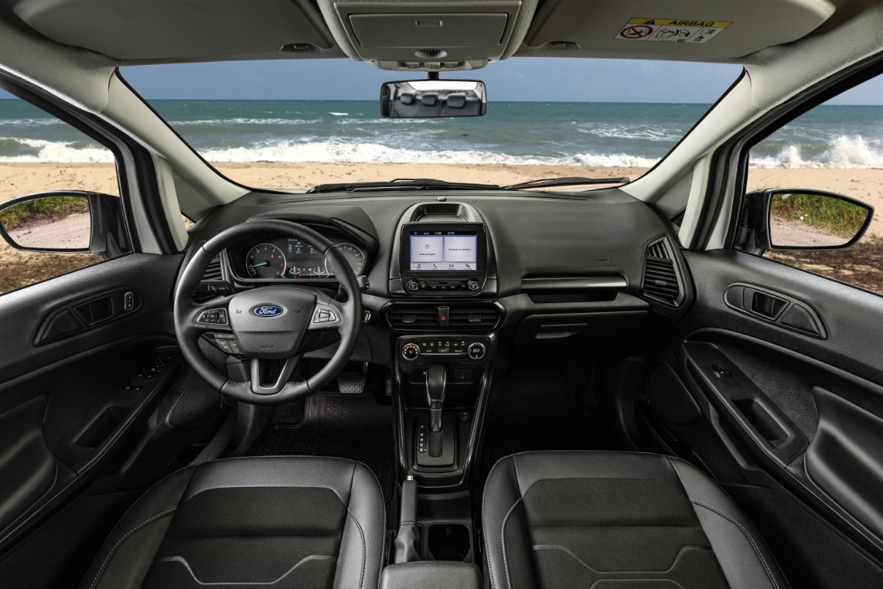 interior ford ecosport freestyle