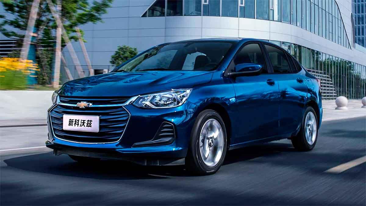 Novo Prisma na configuração chinesa Onix Sedan (Chevrolet | Divulgação)