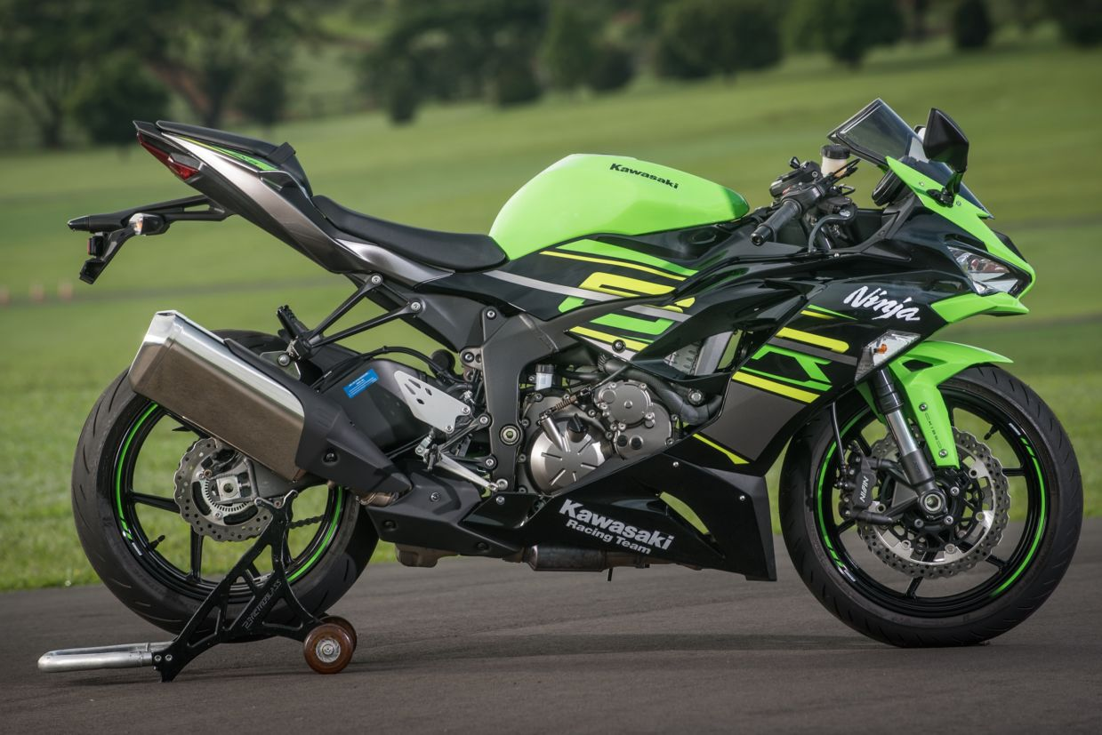 Kawasaki Ninja Zx 6r Fermento Verde