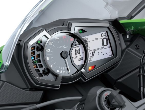 Kawasaki Ninja ZX-6R -painel