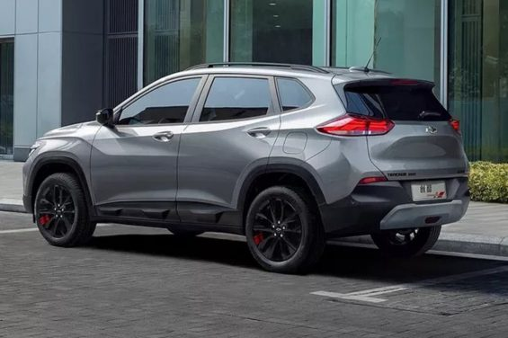 lateral chevrolet tracker 2020