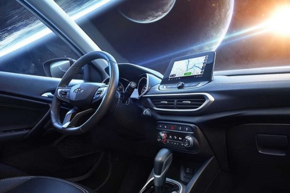 interior chevrolet tracker 2020