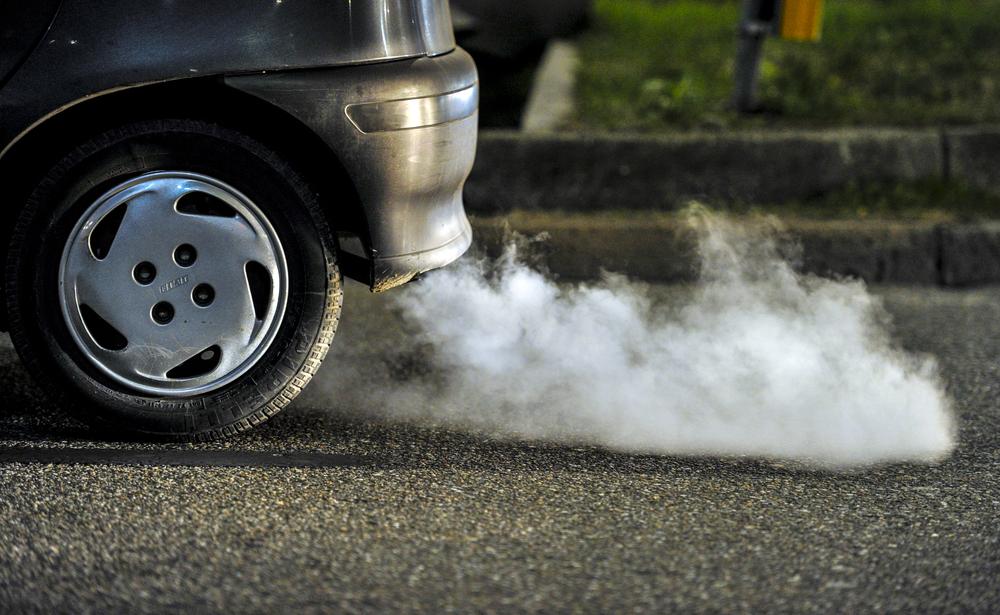 Fumaça do carro