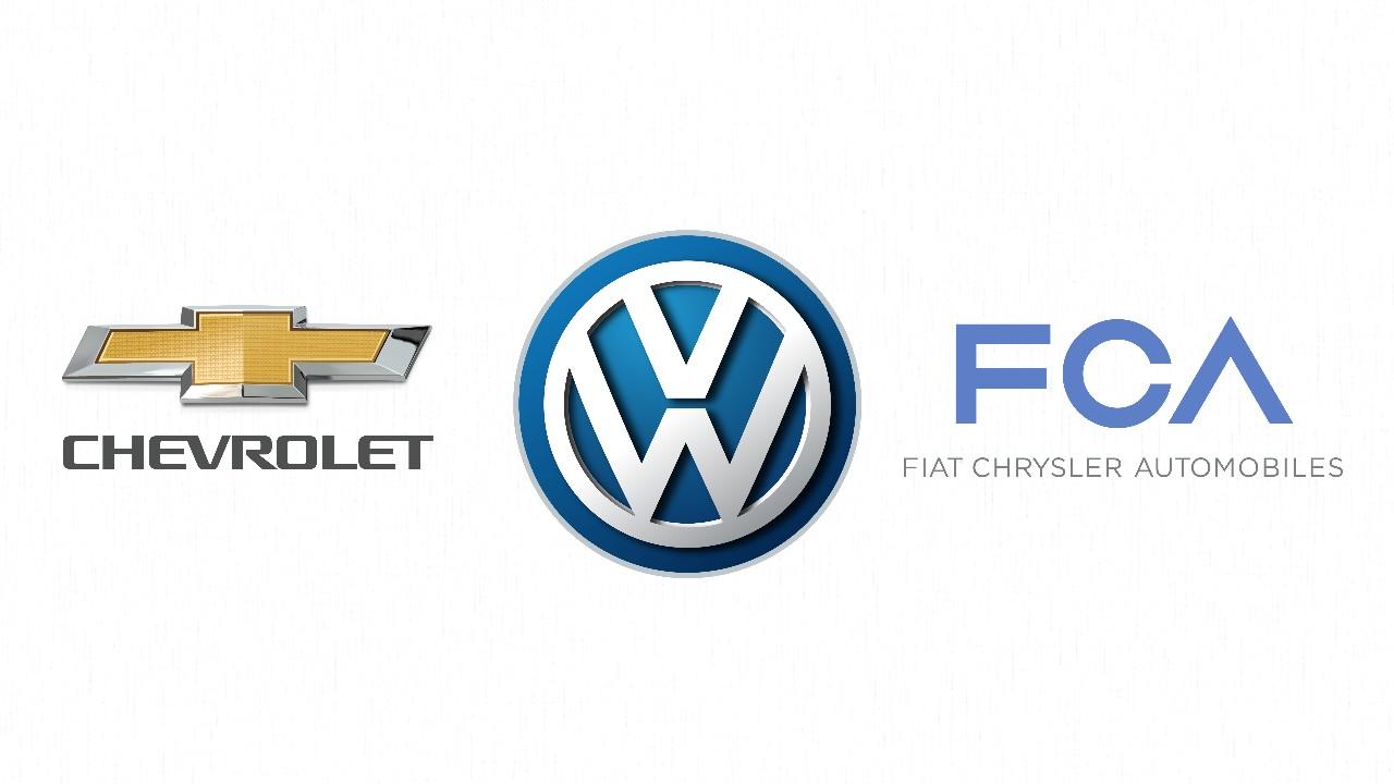 chevrolet volkswagen vw fca fiat jeep chrysler logo