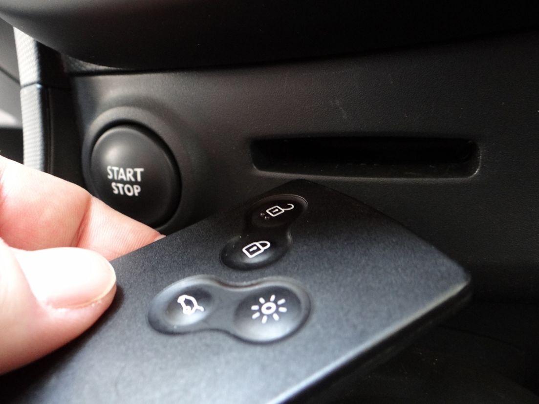 chave de carro renault