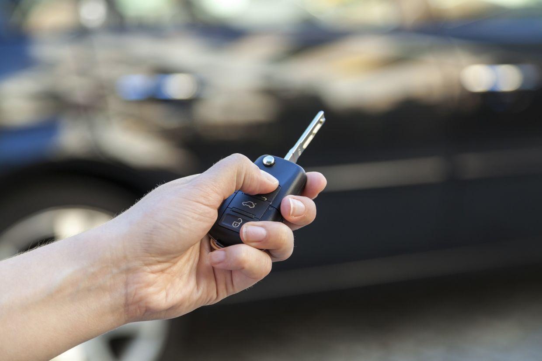 chave de carro controle remoto