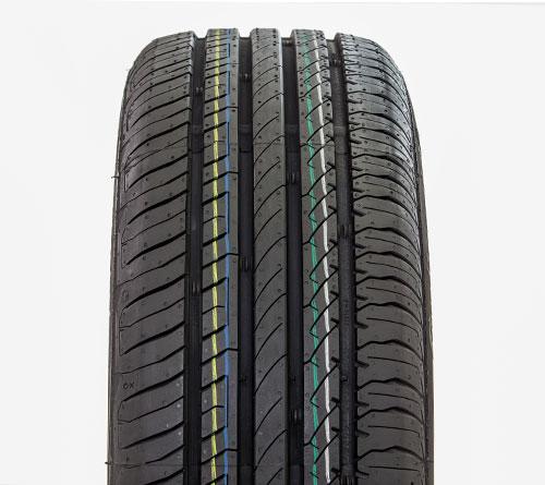 Listras coloridas nos pneus