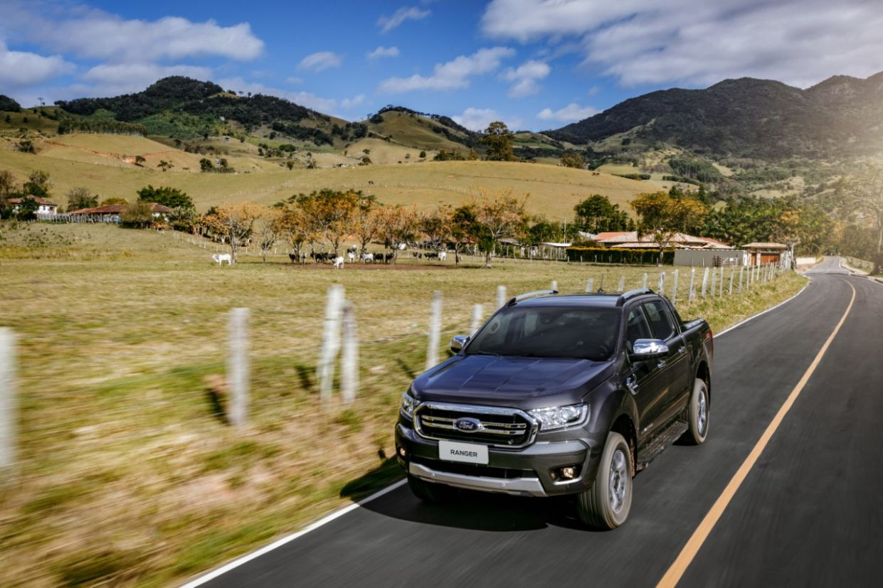 ford ranger 2020 limited estrada