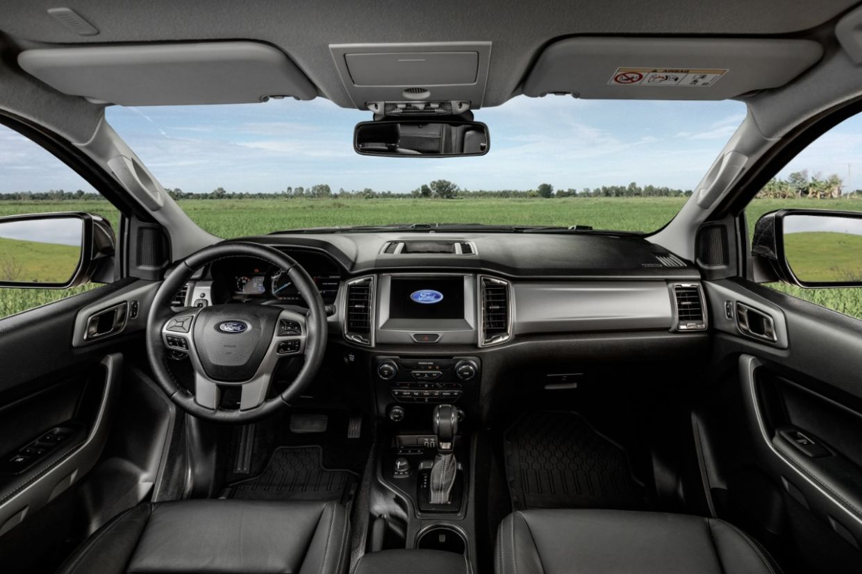 ford ranger 2020 limited painel