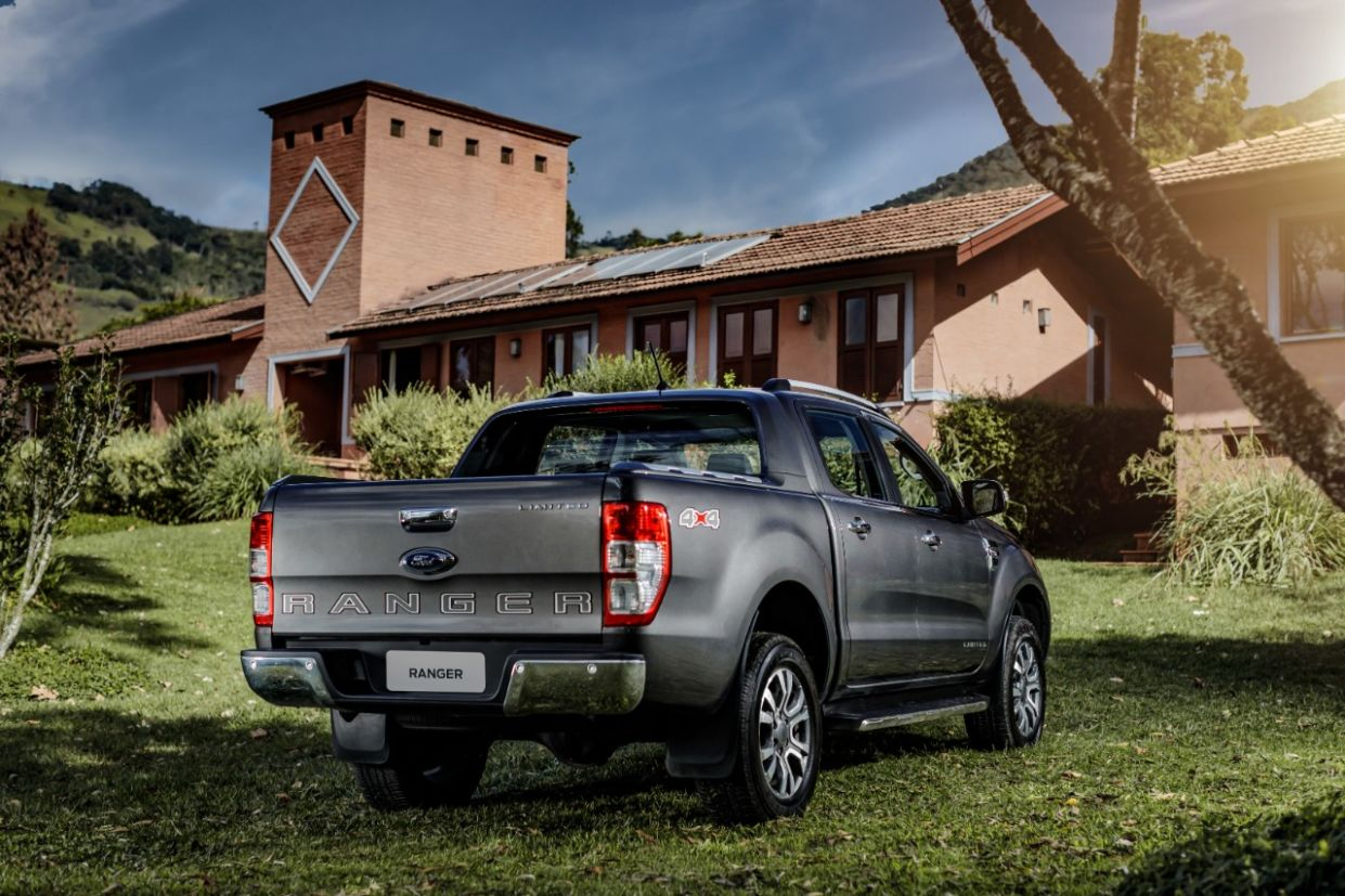 ford ranger 2020 limited tras