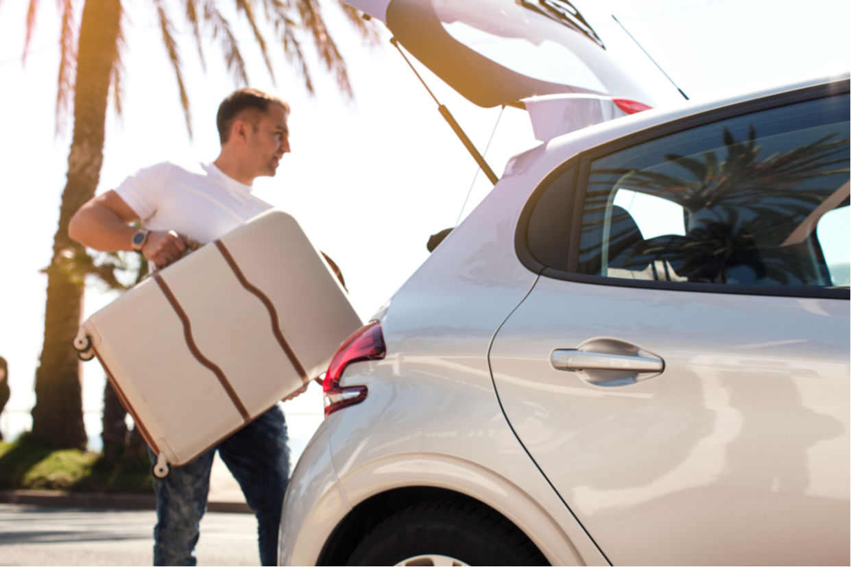 viajar carro porta malas ferramentas levar cuidados