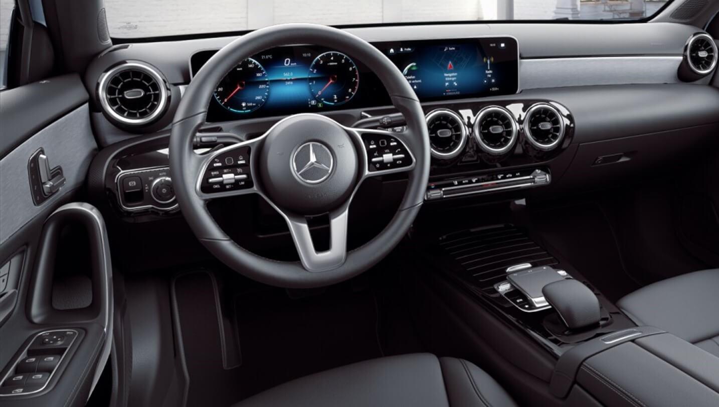 interior mercedes classe a sedan