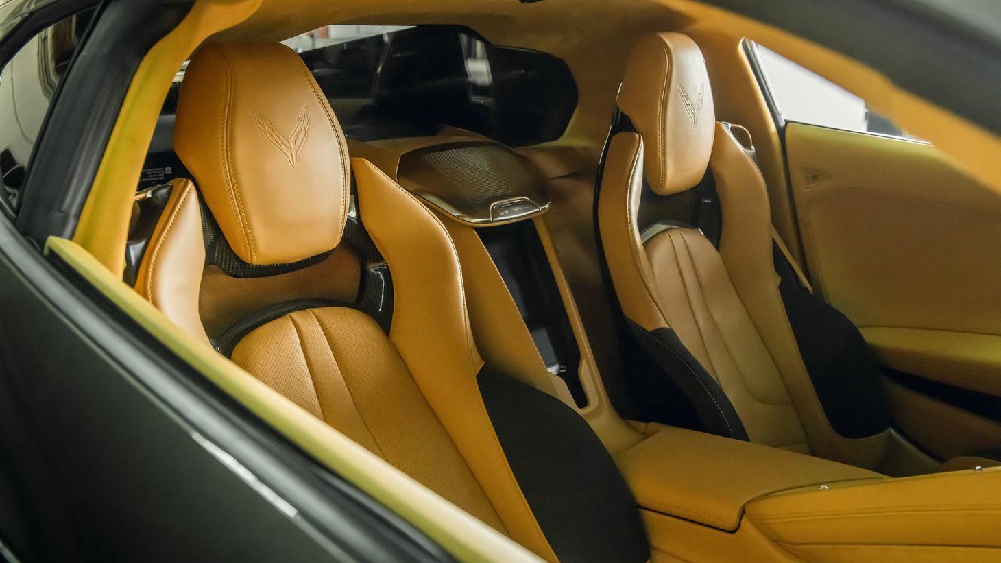 2020 chevrolet corvette yellow interior 1