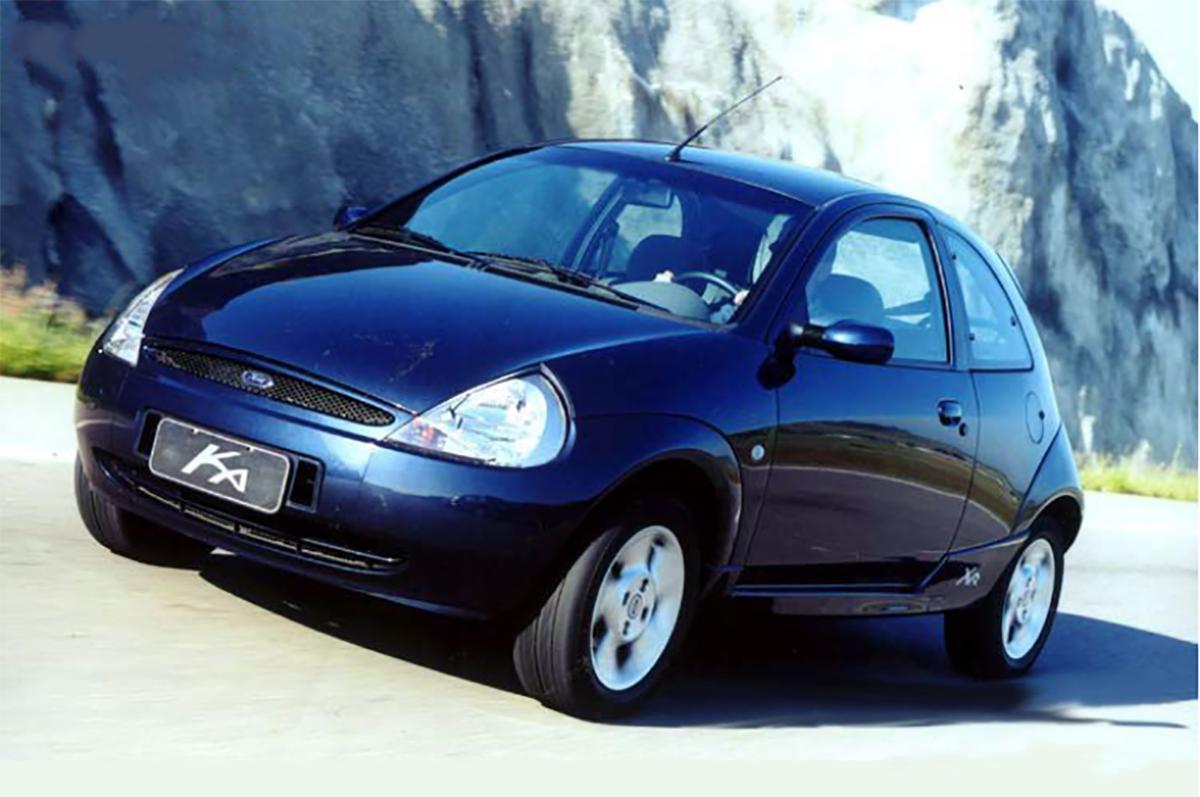 carros esportivos baratos: ford ka xr