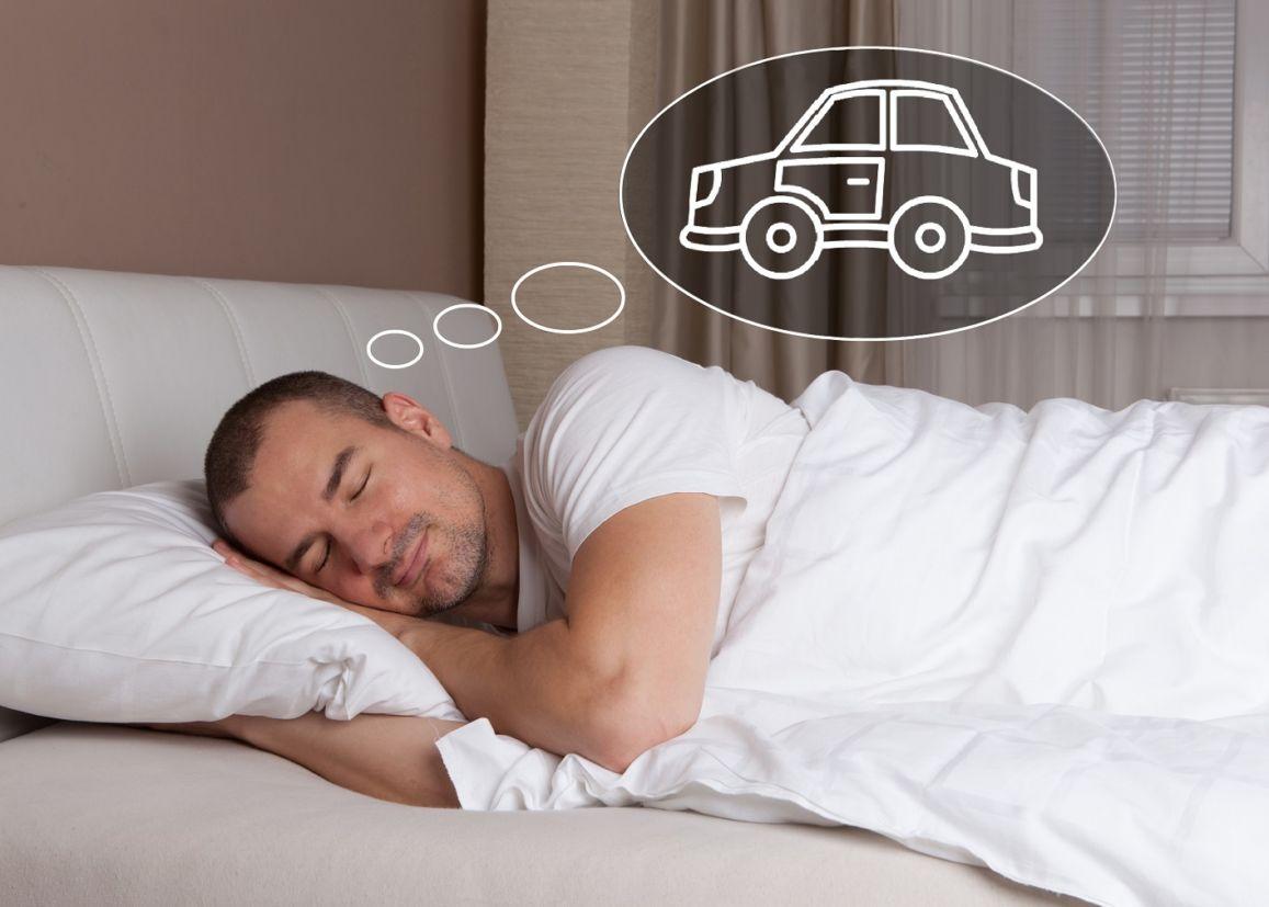 sonhar com carro