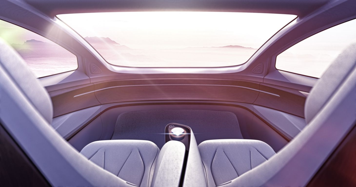 conceito carro autonomo volkswagen id vizzion