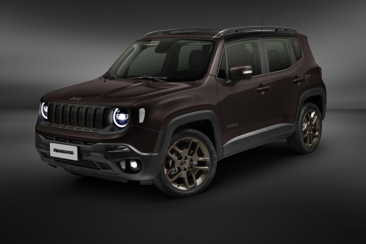 novo jeep renegade 2020 dianteira marrom promoção comprar carro zero
