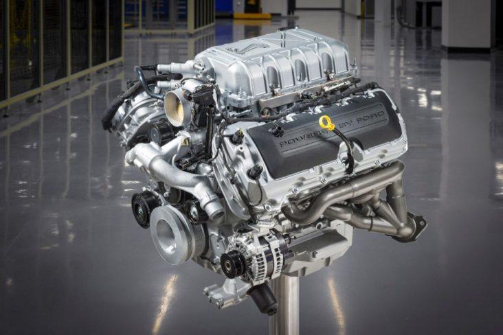ford shelby gt500 2020 motor v8