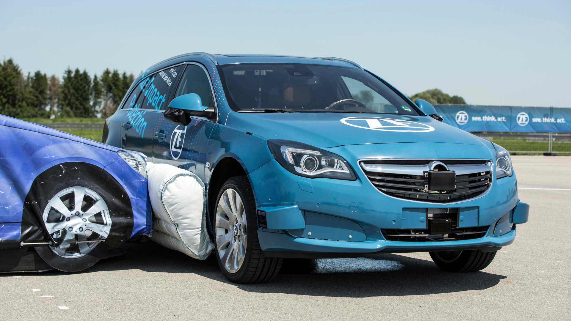 air bag externo carro zf