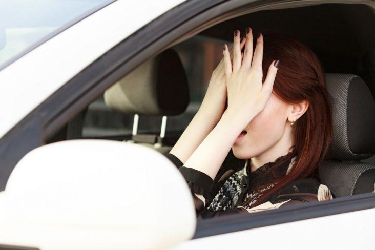 medo de dirigir motorista
