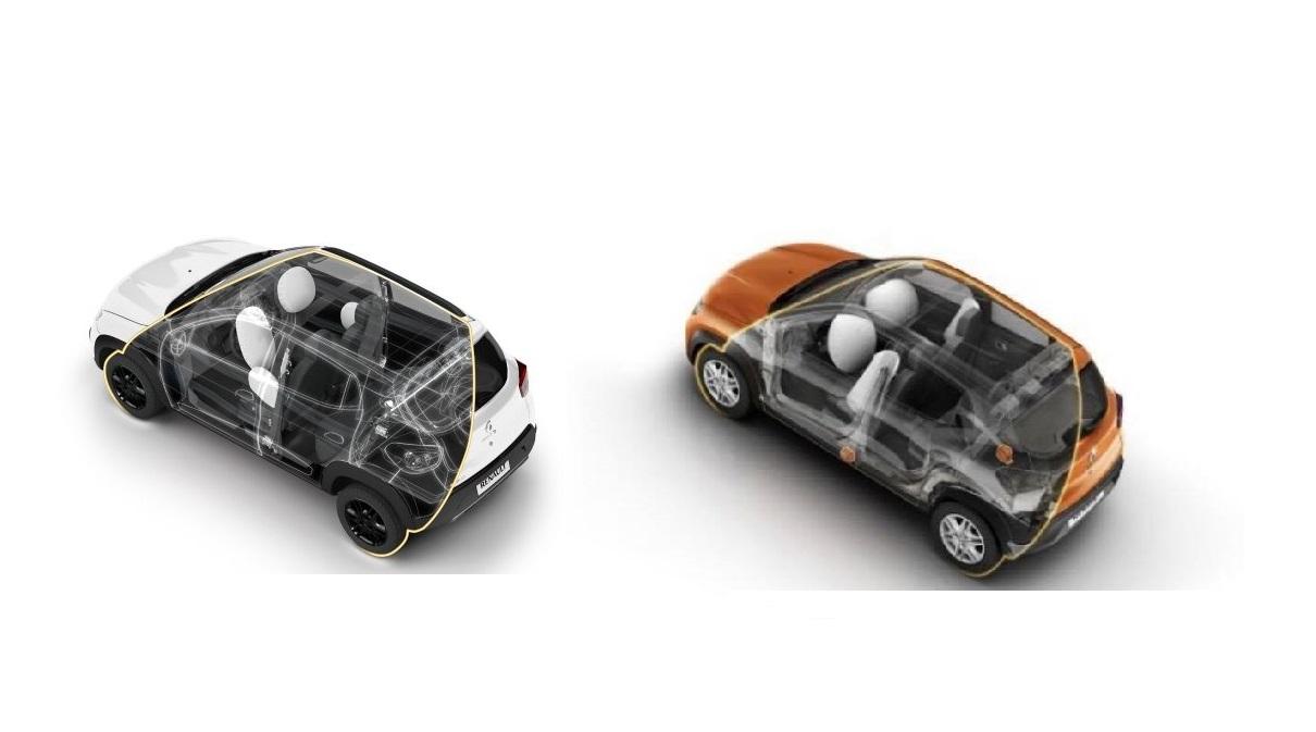 airbags renault kwid verdadeitos x falsos
