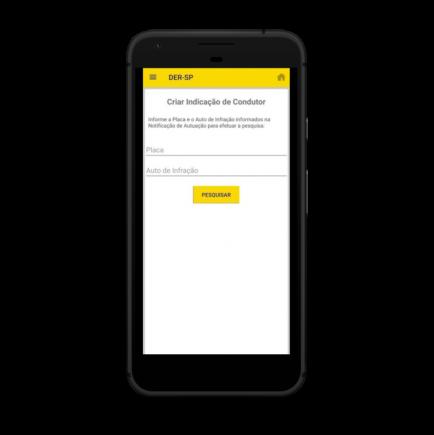 aplicativo der consultar multas indicacao de condutor pixel quite black portrait