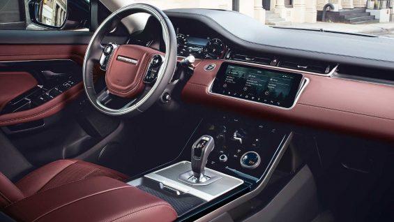 2020 range rover evoque se r dynamic interior