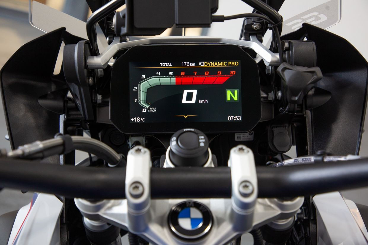 BMW R 1250 GS: painel