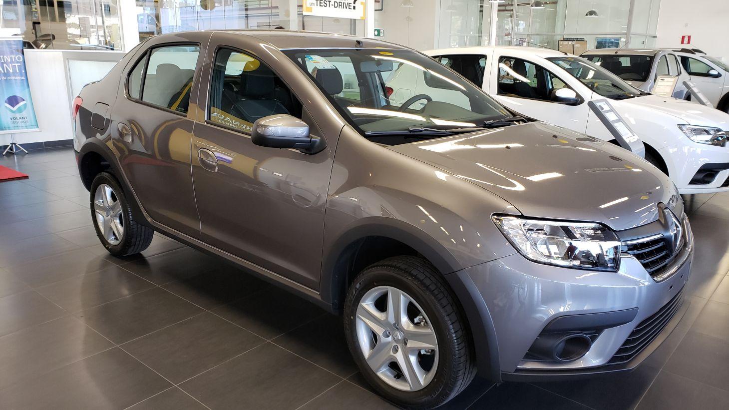 Renault Logan Zen com câmbio CVT (Foto Alessandro Fernandes | Divulgação)
